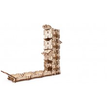 Ugears Model Modular Dice Tower mechanical wooden device for tabletop games