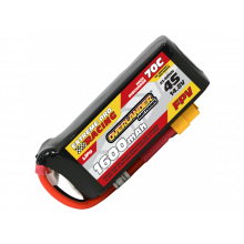 1600mAh 4S 14.8v 70C FPV Lipo Battery with XT60 Connector - High Discharge