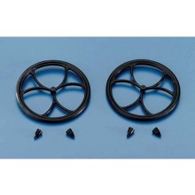 Dubro 2.5 Inches (64mm) Micro Lite Wheels (Pair)