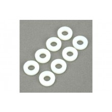 Dubro 4-40 Nylon Flat Washers (8 Pack)