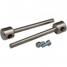 Great PlanesUnder carriage Axle for Wire 2x3/16 2 per pack