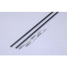 Irvine 2 x 5mm x 1M Carbon Push Rod Set