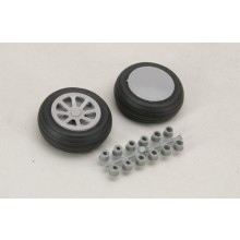 51mm (2 Inch) Smooth Tread Wheels Pair