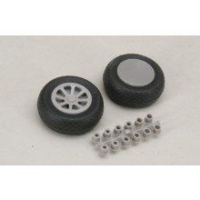 57mm Diamond Tread Wheels Pair