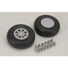 82mm Diamond Tread Wheels Pair