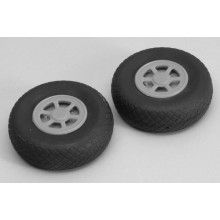 Treaded Airwheel (Pr) -2.75 Inch (70mm)