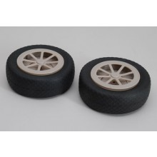 Treaded Airwheel  - 5 Inch (125mm) - 1 in pack only!