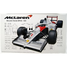 Fujimi GP25 McLaren Honda MP4 / 6 (Japan GP / San Marino GP / Brazil GP) 1/20 Scale kit