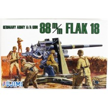 Fujimi WA26 World Armor German 88mm Antitank Gun 1/76 Scale Kit