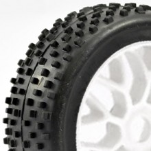 Fastrax 1/8th Buggy Premounted Chip Block Tyres