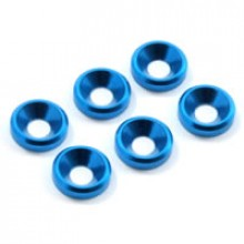 M3 CSK WASHER BLUE