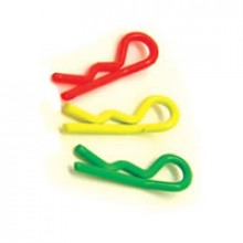 FLUORESCENT YELLOW SM CLIPS