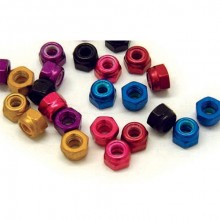 M3 NYLOC NUTS Not Anodised
