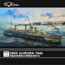 FlyHawk HMS Aurora 1945 1/700 Scale Full Hull Model Kit FH1127