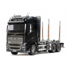 Tamiya RC 1/14 Volvo FH16 Globetrotter 750 6x4 Timber Truck