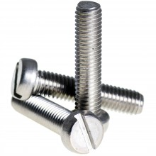SS Flat Pan Hd Bolt M4 25mm Pk10