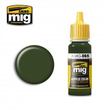 Ammo Mig Jimenez Acrylic 17ml Paint FOREST GREEN