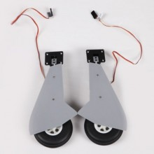 FMS 1100MM TYPHOON MAIN LANDING GEAR SYSTEM W/RETRACT