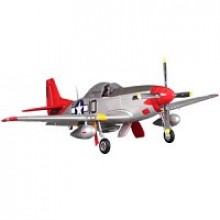 FMS P-51 Mustang V8 1400 Series RTF (Red Tail)