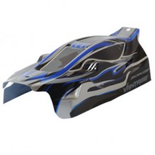 FTX VANTAGE PRINTED EP BUGGY BODY - BLACK (BRUSHLESS)