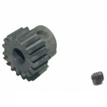 FTX VIPER MOTOR PINION 32DP 15T + SET SCREW BRUSHED VER.