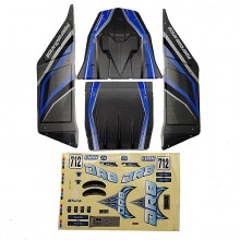 FTX DR8 BODY+DECAL(BLUE)
