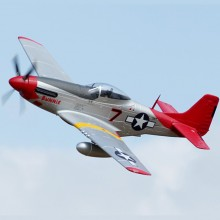FMS 1700MM P-51 MUSTANG RED TAIL PNP - SCRATCH AND DENT 1