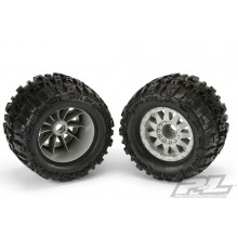 PROLINE TRENCHER X 3.8 MOUNTED ON GREY F11 OFFSET WHEEL 17MM - per pair M2