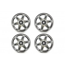 FASTRAX 1.9 inch HEAVYWEIGHT SPLIT 6-SPOKE ALLOY BEADLOCK WHEELS