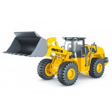 HUINA 1/50 DIECAST WHEEL LOADER STATIC MODEL