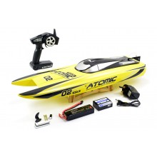 VOLANTEX RACENT ATOMIC 70CM BRUSHLESS RACING BOAT RTR - YELLOW