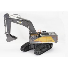 HUINA 1/14TH RC EXCAVATOR 2.4G 22CH WITH DIE CAST CAB and BUCKET