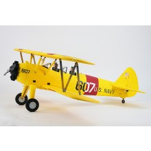DYNAM PT-17 1300MM YELLOW Stearman With out Transmitter/Receiver/Battery/Charger
