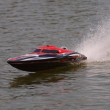 JOYSWAY ALPHA BRUSHLESS ARTR RED RACING BOAT With out Battery and Charger