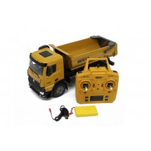 HUINA RC TIPPER DUMPTRUCK 2.4G 10CH With Die CAST CAB - DUMP BED