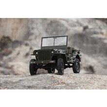 ROC HOBBY 1/6TH WILLYS MILTARY SCALER RTR