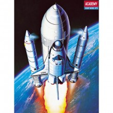 Space Shuttle and Booster Rockets 1:288