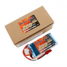 Gens ace Battery LiPo 2S 7.4V-800-40C(JST) 61x30x15mm 48g