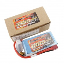 Gens ace Battery LiPo 2S 7.4V-1000-30C(Deans) 76x37x13mm 70g