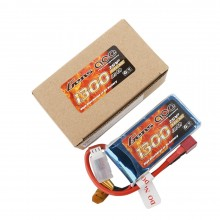 Gens ace Battery LiPo 2S 7.4V-1300-30C(Deans) 75x34x15mm 85g
