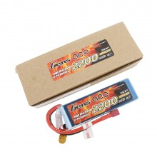 Gens ace Battery LiPo 2S 7.4V-2200-30C(Deans) 108x34x16mm 125g