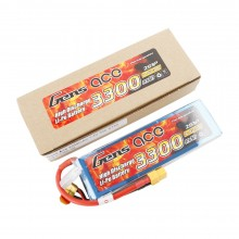 Gens ace Battery LiPo 2S 7.4V-3300-30C(XT60) 138x42x16mm 180g
