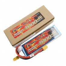 Gens ace Battery LiPo 2S 7.4V-4000-30C(XT60) 138x42x16mm 206g