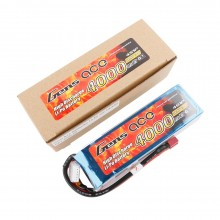 Gens ace Battery LiPo 4S 14.8V-4000-30C(Deans) 142x42x32mm 370g