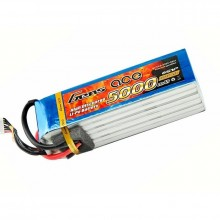 Gens ace Battery LiPo 6S 22.2V-5000-45C (EC5) 162x45.5x42.5mm 780g