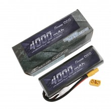 Gens ace Battery LiPo 2S 7.4V-4000-45C(XT90 Dual) 139x47x23mm 227g