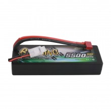 Gens ace Battery LiPo 2S 7.4V-5500-50C(Deans) 139x47x25mm 245g