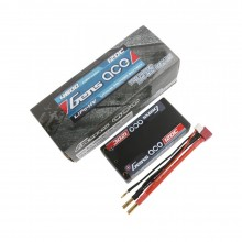 Gens ace Battery LiPo 2S HV 7.6V-120C-4600 4mm Shorty 96x48x26mm-205g