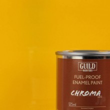 Gloss Enamel Fuel-Proof Paint Chroma Cub Yellow (125ml Tin)