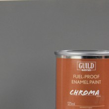 Matt Enamel Fuel-Proof Paint Chroma Dark Grey (125ml Tin)